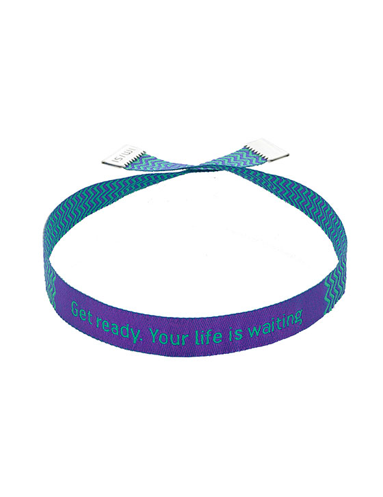 Get Ready Your Life Is Waiting Bracelet