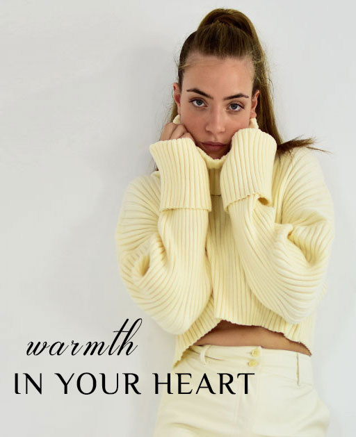 BANNER WARMTH IN YOUR HEART